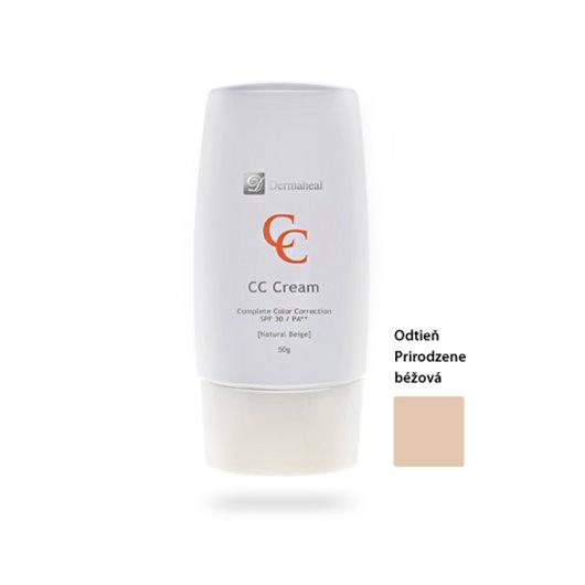 Dermaheal CC krém na kompletnú korekciu - odtieň Natural Beige 50 gr