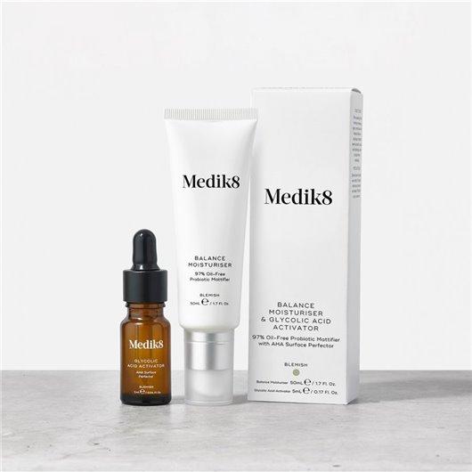 Medik8 Balance Moisturiser & Glycolic Acid Activator 55 ml