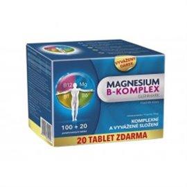 GLENMARK Magnesium B-komplex 100+20 tabliet