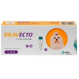 BRAVECTO SPOT-ON DOG 112,5 MG 0,4 ML 2-4,5 kg