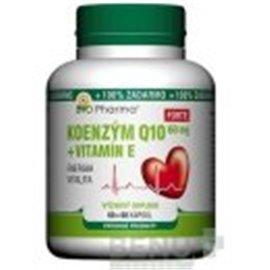 Bio Pharma Koenzým Q10 60mg+Vit.E Forte 120 kapsúl
