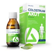 DELTA COLOSTRUM AKUT Sirup Natural 125 ml
