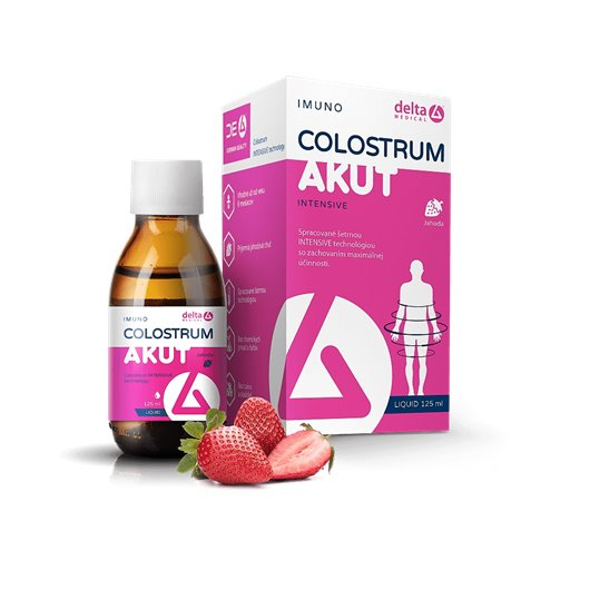 DELTA COLOSTRUM AKUT SIRUP JAHODA 1X125 ML