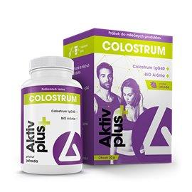 Delta Aktiv plus+ Colostrum & Bio Arónia prášok 30 g