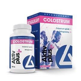 Delta Colostrum Aktiv plus & Betaglukány 60 kapsúl