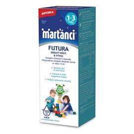 Walmark Marťankovia Futura 1-3 sirup 125 ml