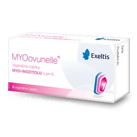 MYOovunelle vaginálne čapíky 1x3 ks