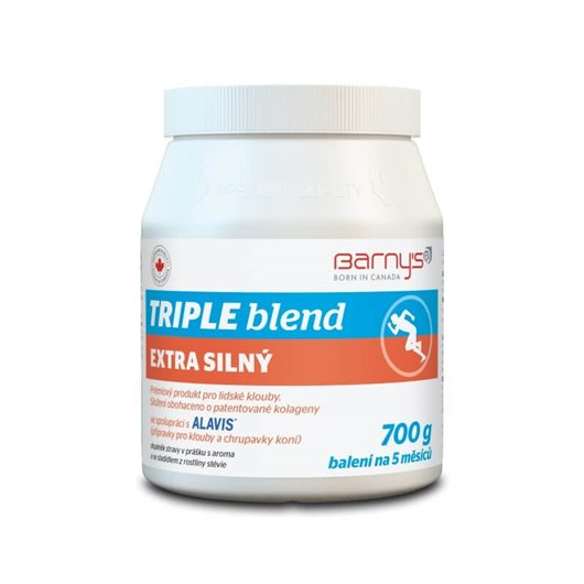Barny's Triple Blend Extra Silný 700g