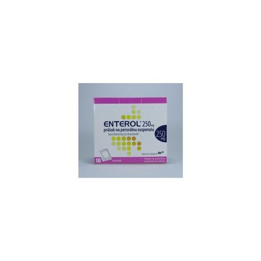 Enterol 250 mg prášok na perorálnu suspenziu plu.por.10 x 250 mg