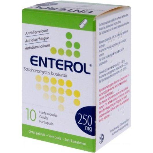 Enterol 250 mg kapsuly cps.dur.10 x 250 mg